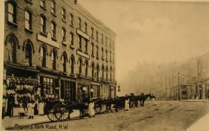 Regent's Park Road, 1900s