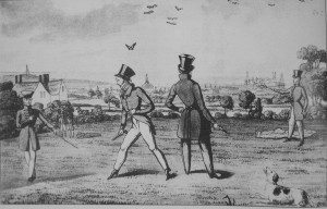 Primrose Hill was a favoured duelling spot