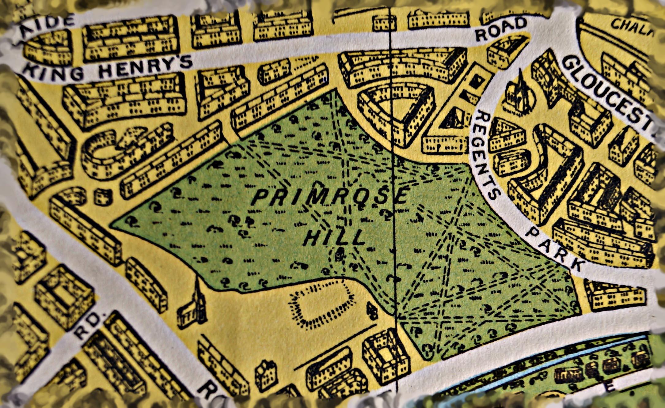 primrose hill new years eve london