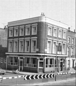 Princess of Wales pub, 1972